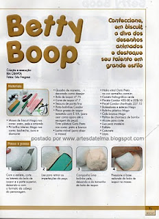 PASSO A PASSO DE BETY BOP EM BISCUIT