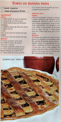 TORTA DE BANANA PASSA