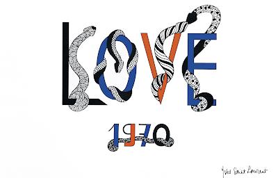 his love series of artwork