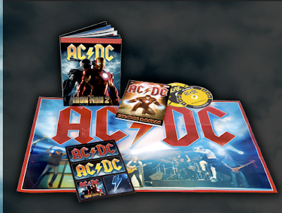 AC DC shoot To Thrill with Iron Man footage