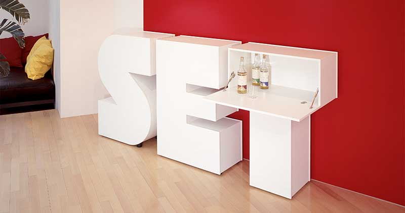 Delicieux If Itu0027s Hip, Itu0027s Here (Archives): Fun U0026 Functional Letter Furniture From  Set 26