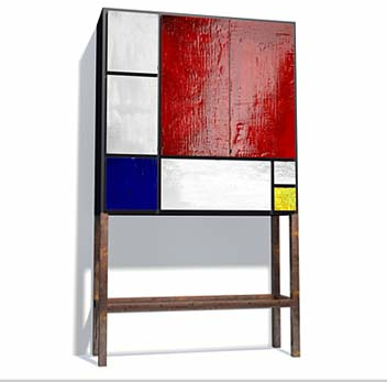 Mondrian Madness: In Furniture, Shoes, Home Decor & More. - if it's hip,  it's here
