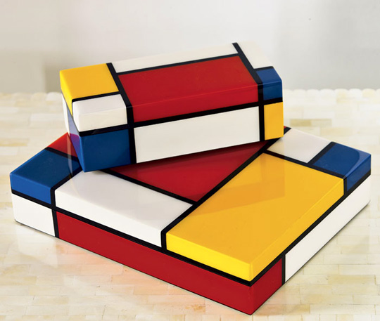 Mondrian Madness In Furniture Shoes Home Decor More
