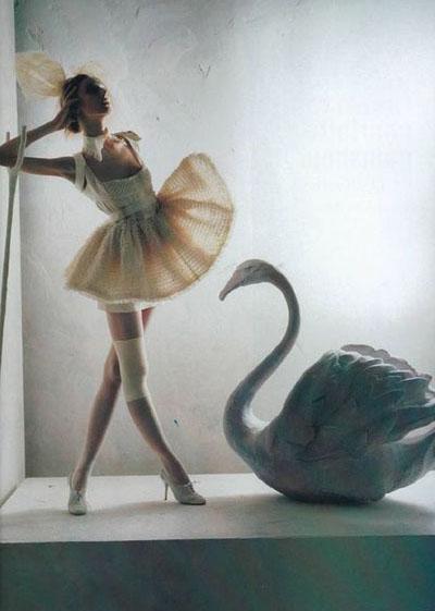 Weird fashion photography