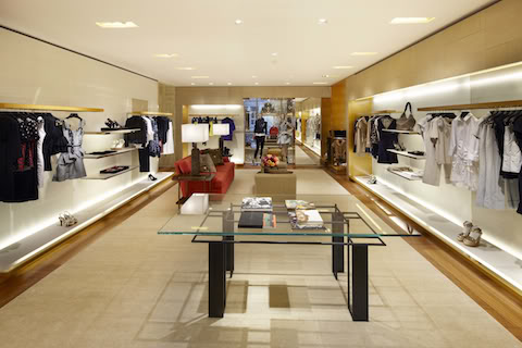 the first floor is home to the latest womens wear collections the