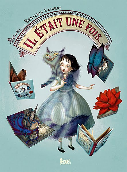 Beautifully Illustrated Book Covers : Benjamin lacombe s beautifully illustrated pop up book