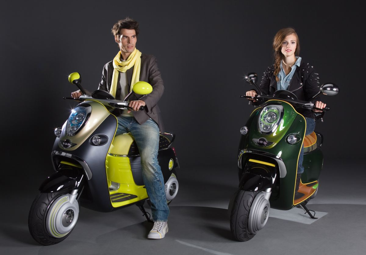 If Its Hip  Its Here  MINI Introduces E Scooter Concepts At
