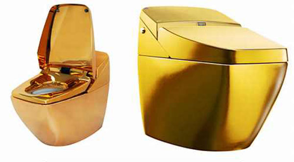 Daily Update Interior House Design 26 More Gold Plated Items For Those Whose