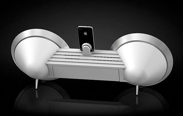 if it 39 s hip it 39 s here archives beosound 8 a colorful cool docking station for iphone. Black Bedroom Furniture Sets. Home Design Ideas