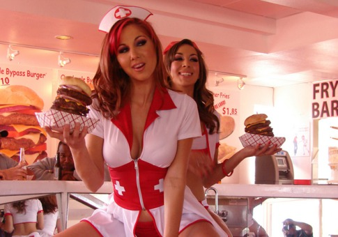 heart attack grill dallas. makeup Heart Attack Grill