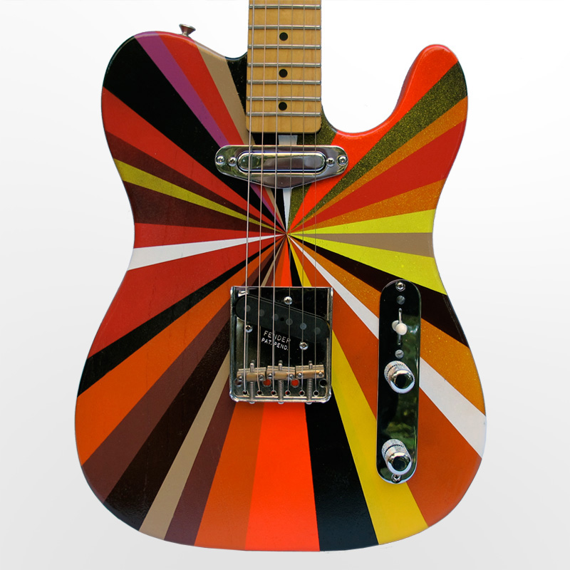 Fender Guitar Paint Codes