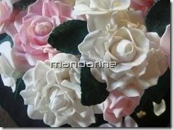 Mandarine: Bouquet of Roses Birthday Cake - How I made ...