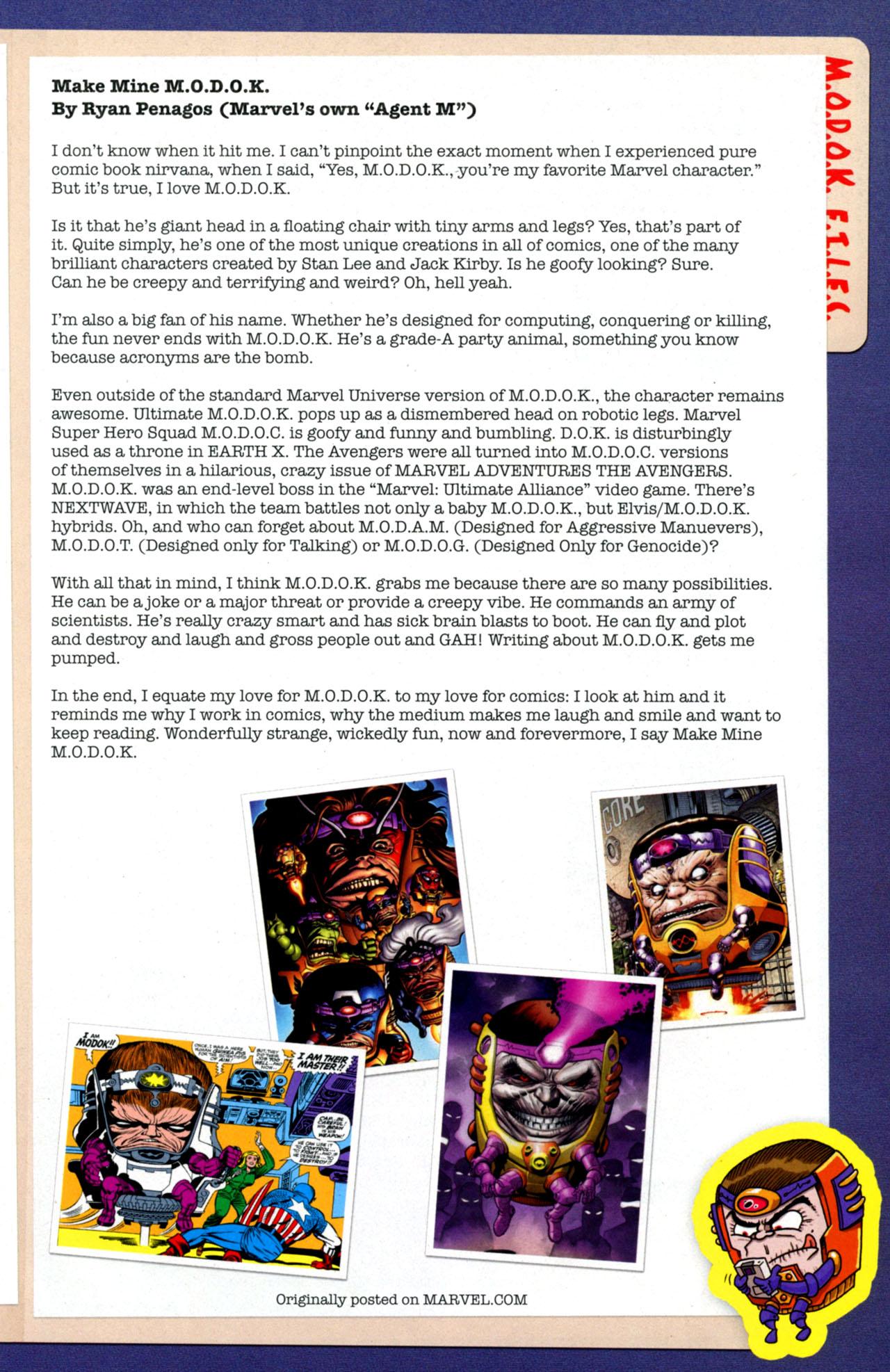 Dark Reign: M.O.D.O.K. #1 #4 - English 23