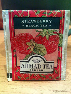strawberry ahmad tea london © Rosidah Abidin
