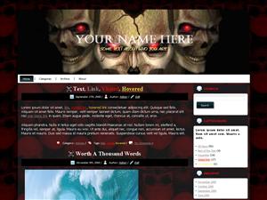 Template Ala Skull (template tengkorak)