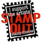 Sharing stamped or digital images is stealing! Help stop stamp theft