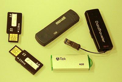 Chiavette USB da 128 MB a 4 GB