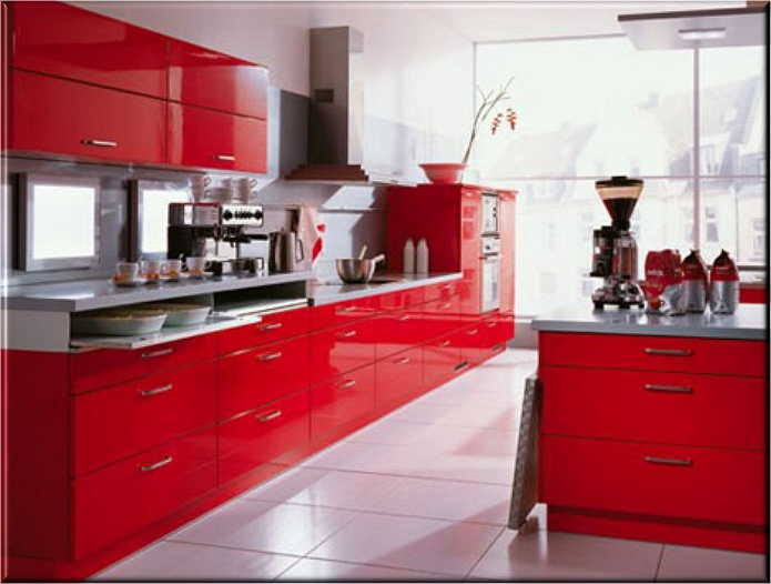 Bold Kitchen Colors