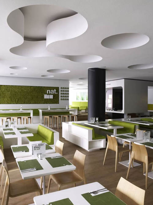 Home Decorating Ideas Minimalist Contemporary Restaurant Interior