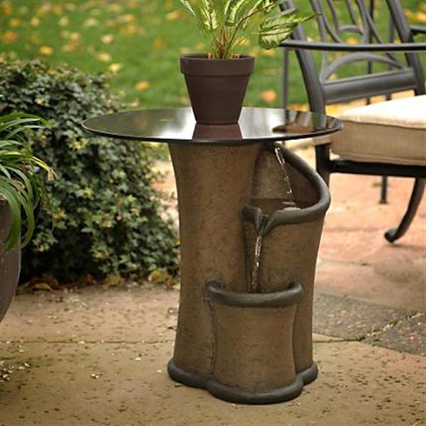 Small Outdoor Water Fountain Ideas