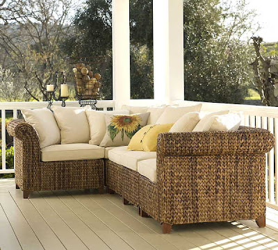 Home design interior decor home furniture architecture house garden seagrass sectional for Seagrass living room furniture