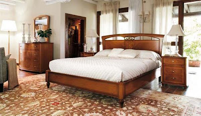 Italian Bedroom Design Ideas With Wooden Furniture Set