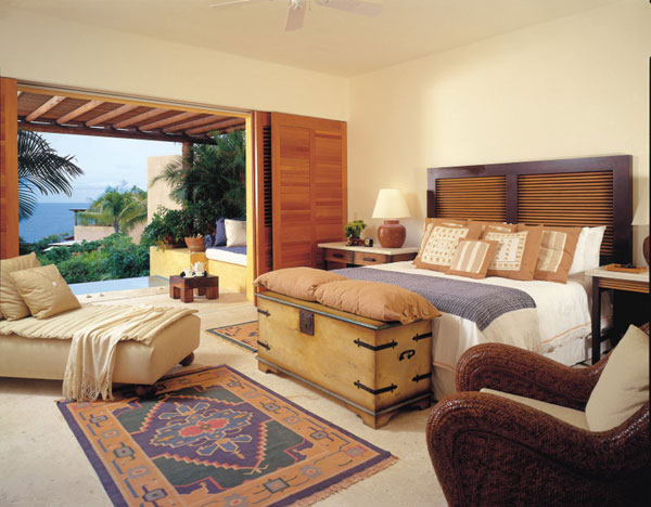 Amazing Bedroom Ocean Panoramic View Contemporary Beach