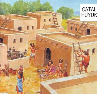 Ciao bambini viaggio in 3d nel neolitico catal huyuk for 1 1 2 casa di storia