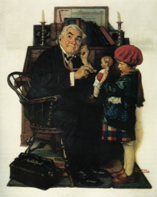 norman rockwell doctor and doll analysis essay