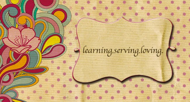 learning.serving.loving.