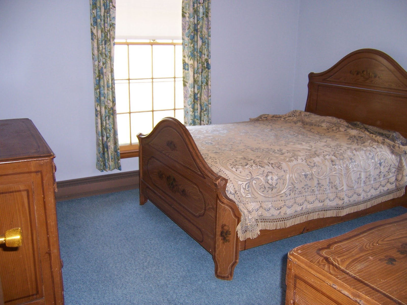 Bedroom 3 is a 10x12 room on the corner of the house, two large