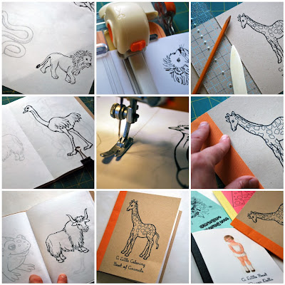 Chez Beeper Bebe: Tutorial: How to Build Your Own Little Coloring ...