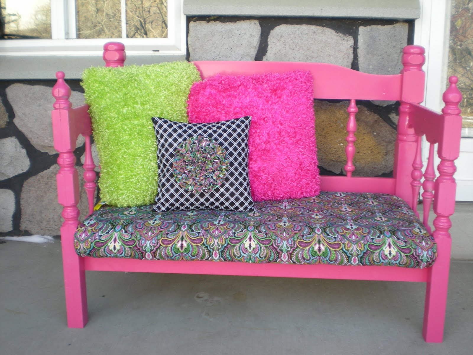 Jenny Ashley 39 S Redos Hot Pink Bench Sold