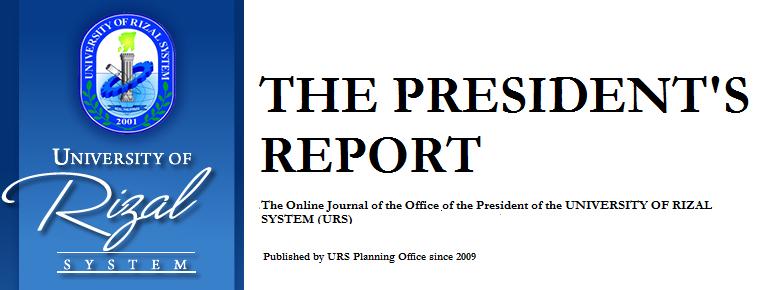 URS President's Report