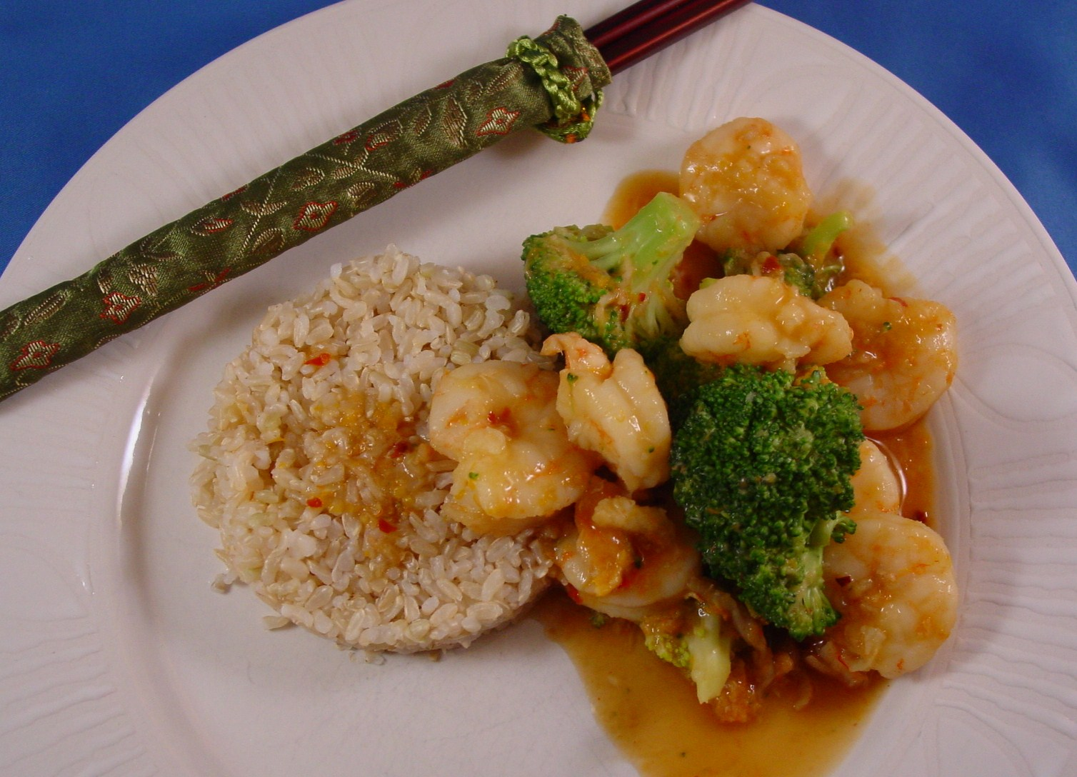 Judy and Barry, Cooking D'Lites: Spicy Orange Shrimp with Broccoli