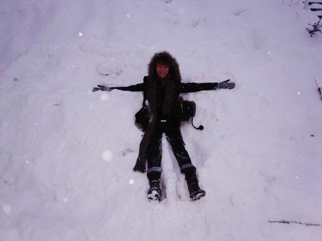 白 色 北 海 道 。