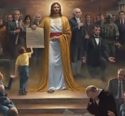 jesus with constitution