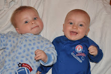 My boys in October 2009