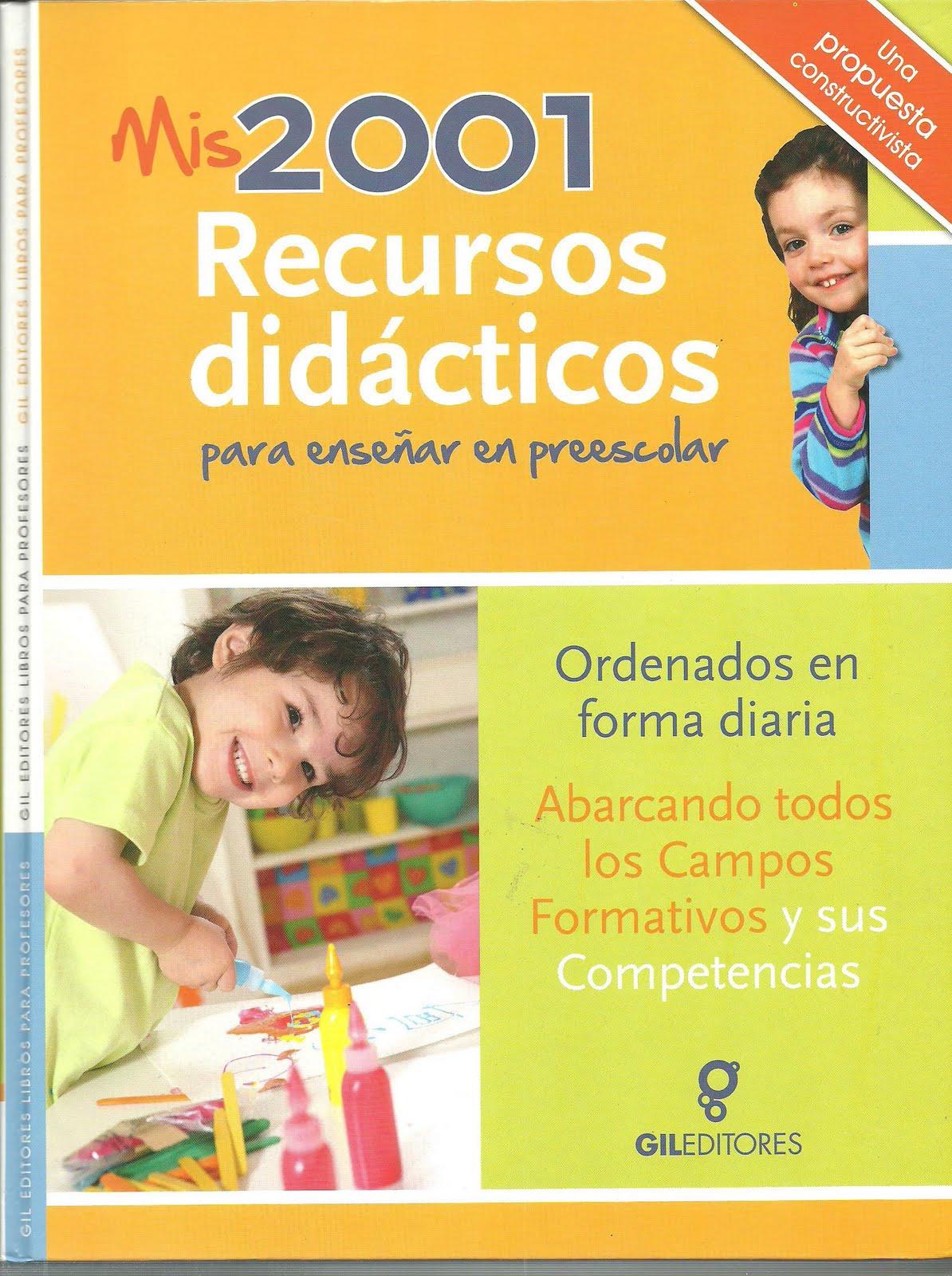 libro mis 2001 recursos didacticos para ensenar en el preescolar