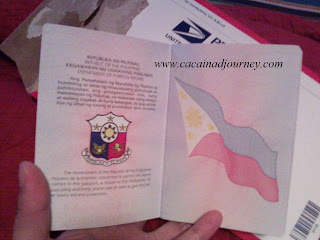 first page Philippines e-passport