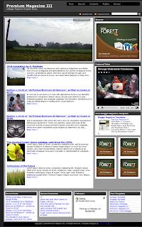 Premium Magazine III, Blogger Magazine Templates