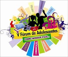 V FÓRUM DE ADOLESCENTES