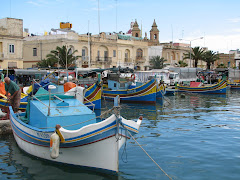 The fishing village of Marsaxlokk, Malta