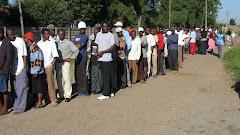 Zimbabweans vote