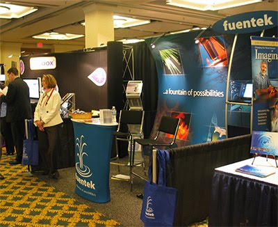 Fuentek Booth @ AUTM 2010 Annual Meeting