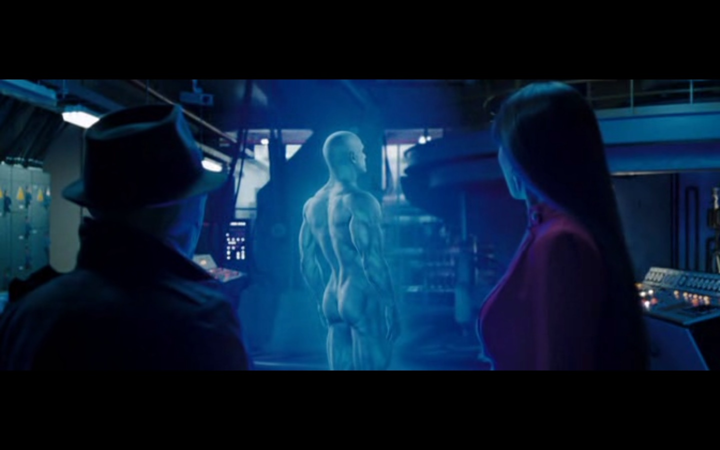 from Drew billy crudup watchmen naked