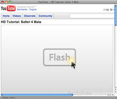 ClickToFlash Mac OSX ClickToFlash Mac OSX : Bloquer Flash sur Safari (gratuit)