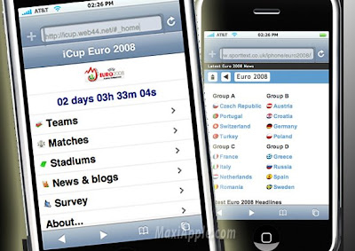 ero008 iPhone : Euro 2008 cest maintenant