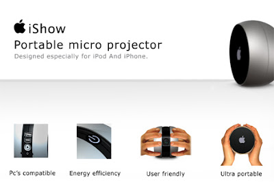 ishow Apple iShow : Video Projecteur de Poche (images)