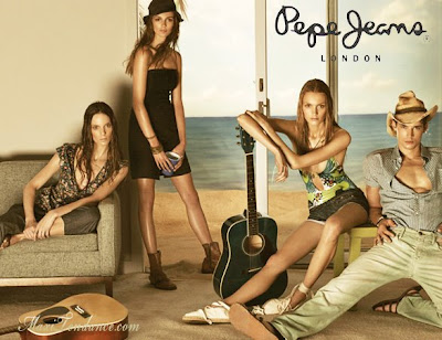pepe jeans pub printemps/été 2009 pepe_jeans_ss09a